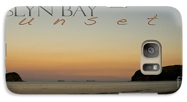 Galaxy Case featuring the photograph Rosslyn Bay Sunset by Vicki Ferrari