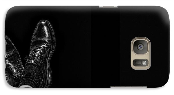 Galaxy Case featuring the photograph Rough Day by Tom Gort
