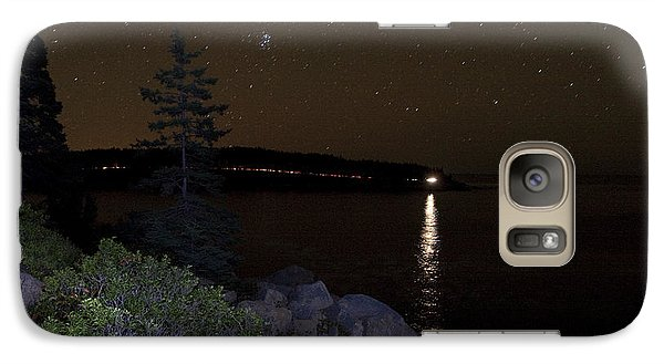 Galaxy Case featuring the photograph Rounding Otter Point by Brent L Ander