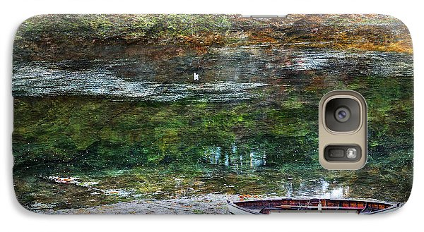 Galaxy Case featuring the photograph Rowboat In The Slough by Michele Cornelius