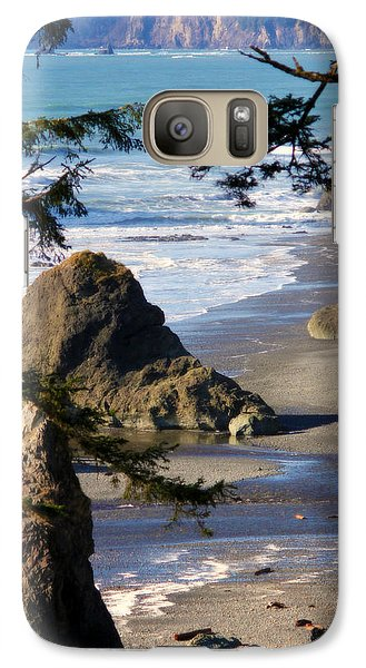 Galaxy Case featuring the photograph Ruby Beach Iv by Jeanette C Landstrom