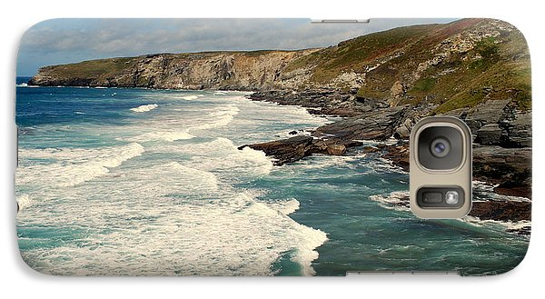 Galaxy Case featuring the photograph Rugged Beauty by Lynn Hughes