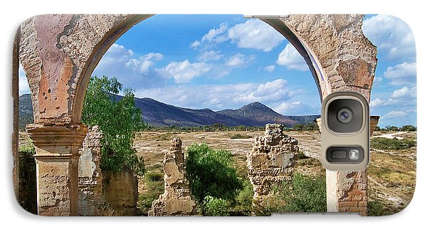 Galaxy Case featuring the photograph Ruins Of Mineral De Pozos by John  Kolenberg