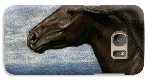 Galaxy Case featuring the painting Run Free by Sheri Gordon
