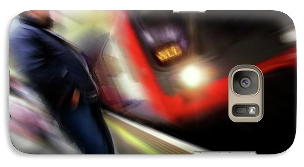 Galaxy Case featuring the photograph Rush by Richard Piper