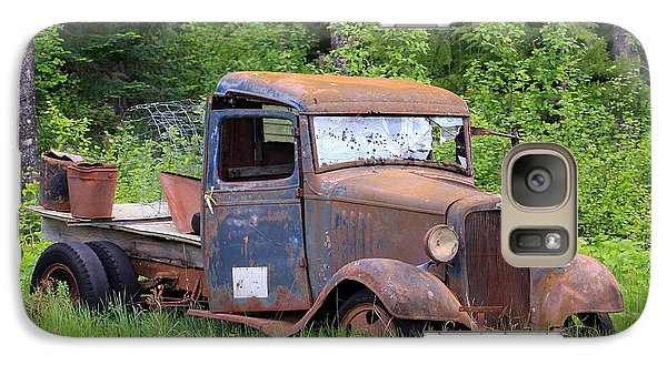 Galaxy Case featuring the photograph Rusty Chevy by Steve McKinzie