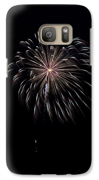 Galaxy Case featuring the photograph Rvr Fireworks 10 by Mark Dodd
