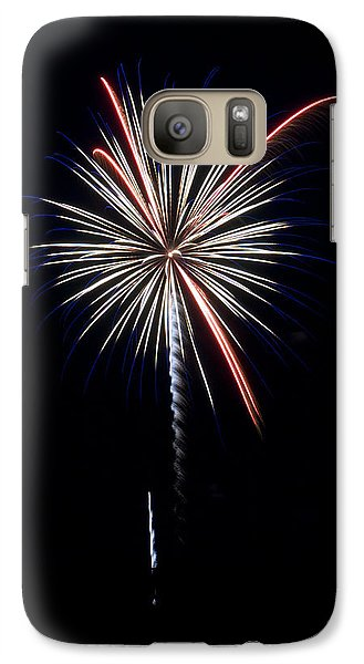 Galaxy Case featuring the photograph Rvr Fireworks 11 by Mark Dodd