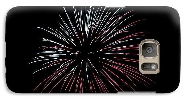 Galaxy Case featuring the photograph Rvr Fireworks 15 by Mark Dodd