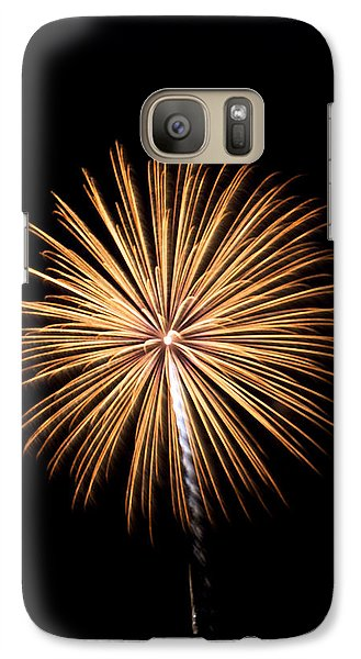 Galaxy Case featuring the photograph Rvr Fireworks 27 by Mark Dodd