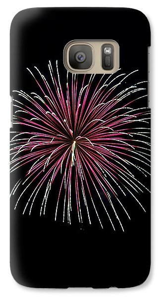 Galaxy Case featuring the photograph Rvr Fireworks 8 by Mark Dodd