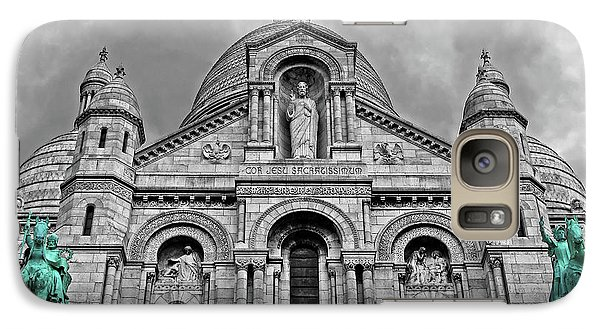 Galaxy Case featuring the photograph Sacre Coeur Montmartre Paris by Dave Mills