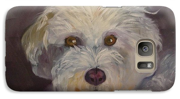 Galaxy Case featuring the painting Sadie by Carol Berning
