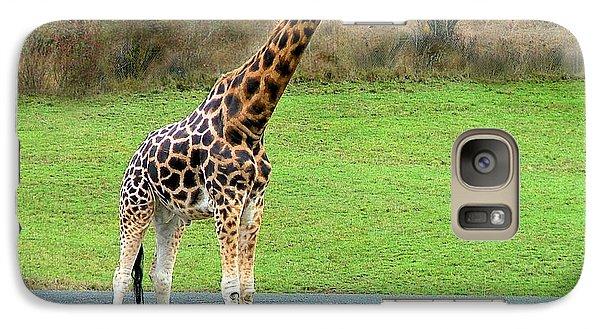 Galaxy Case featuring the photograph Safari Giraffe by Wendy McKennon