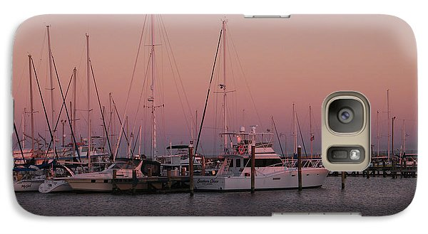 Galaxy Case featuring the photograph Safe Harbor by Brian Wright