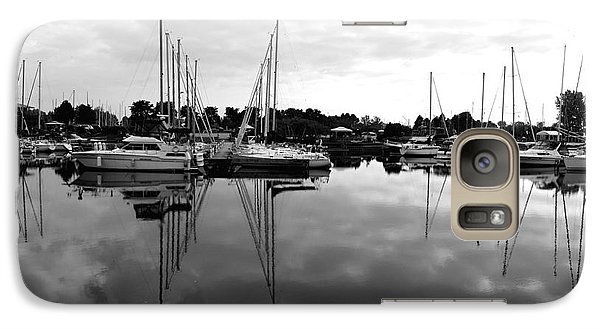 Galaxy Case featuring the photograph Sailboats At Bluffers Marina Toronto by Susan  Dimitrakopoulos