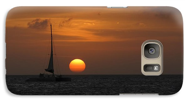 Galaxy Case featuring the photograph Sailing Away by David Gleeson