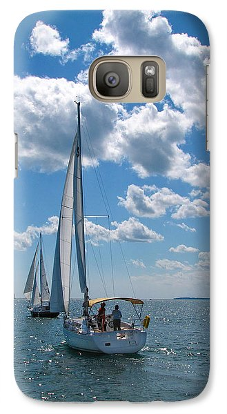 Galaxy Case featuring the photograph Sailing by Cindy Haggerty