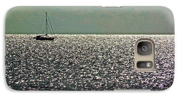 Galaxy Case featuring the photograph Sailing On A Sea Of Diamonds by William Fields