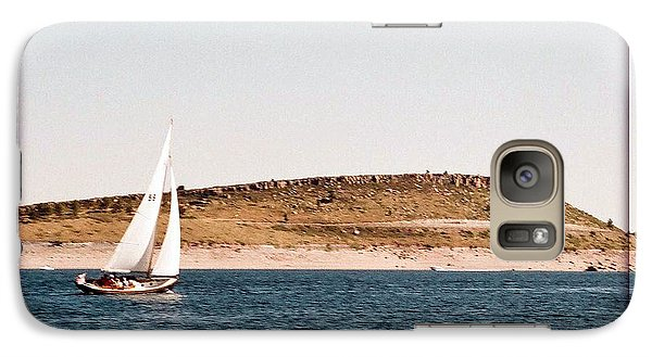 Galaxy Case featuring the photograph Sailing On Carter Lake by David Pantuso