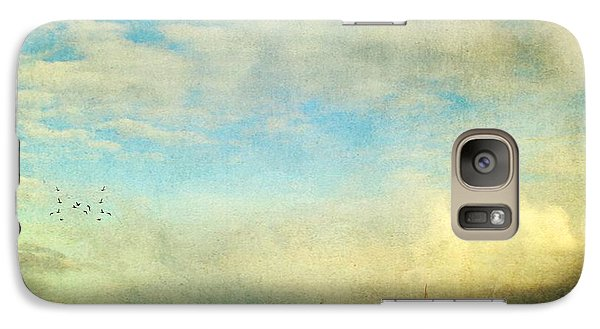 Galaxy Case featuring the photograph Sailing On The Sea by Michele Cornelius