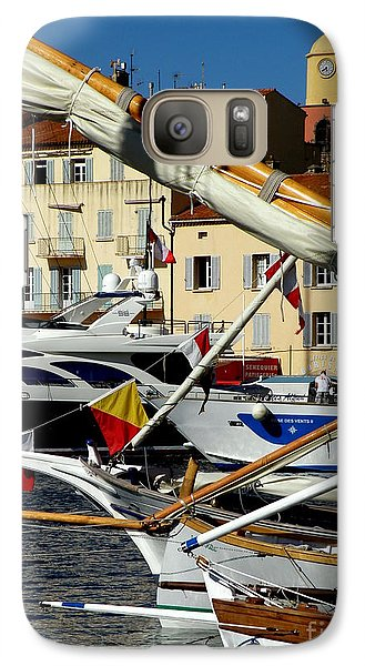 Galaxy Case featuring the photograph Saint Tropez Harbor by Lainie Wrightson