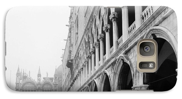 Galaxy Case featuring the photograph San Marco Square In Venice by Emanuel Tanjala