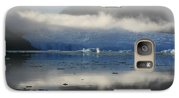Galaxy Case featuring the photograph San Rafael Glacier by Laurel Talabere
