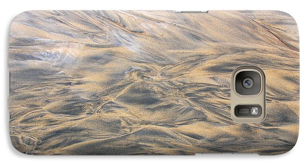 Galaxy Case featuring the photograph Sand Patterns by Nareeta Martin