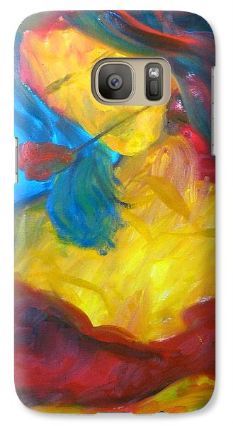 Galaxy Case featuring the painting Sangria Dreams by Keith Thue