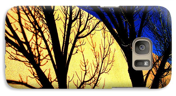 Galaxy Case featuring the photograph Santa Fe Afternoon by Susanne Still