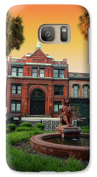 Galaxy Case featuring the photograph Savannah Cotton Exchange by Paul Mashburn