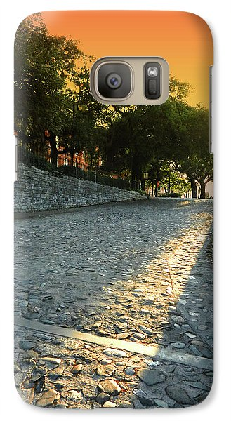 Galaxy Case featuring the photograph Savannah Sunset by Paul Mashburn