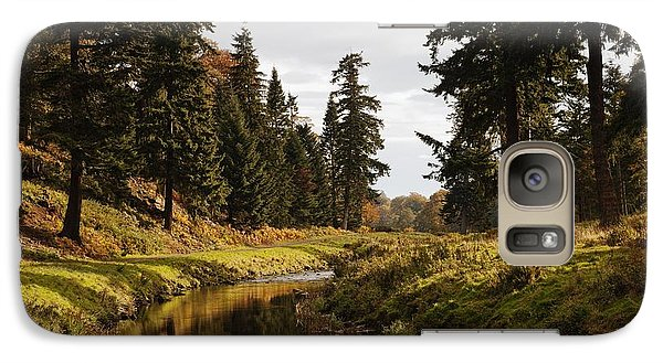 Galaxy Case featuring the photograph Scenic River, Northumberland, England by John Short