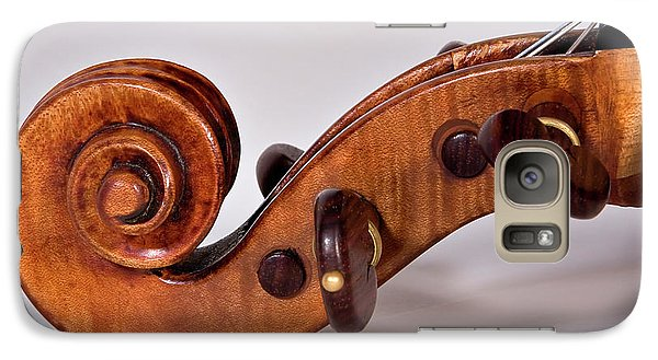 Galaxy Case featuring the photograph Scroll Side View by Endre Balogh
