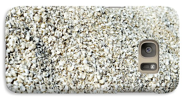 Galaxy Case featuring the photograph Sea Shells by Yew Kwang