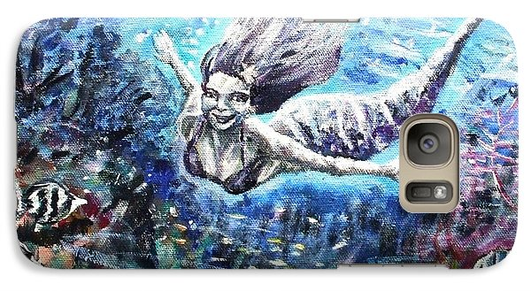 Galaxy Case featuring the painting Sea Surrender by Shana Rowe Jackson