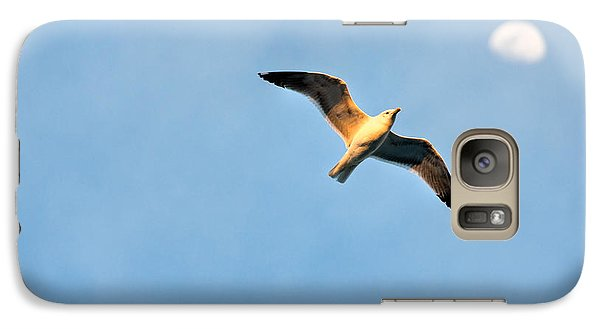 Galaxy Case featuring the photograph Seagull by Luciano Mortula