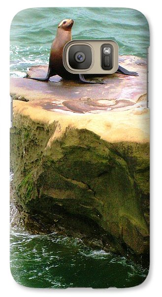 Galaxy Case featuring the photograph Seal Rock by Sue Halstenberg