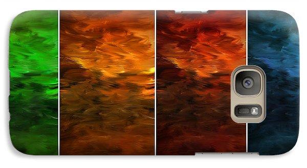 Seasons Change Galaxy Case by Lourry Legarde