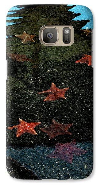 Galaxy Case featuring the photograph Seastars by Karen Harrison
