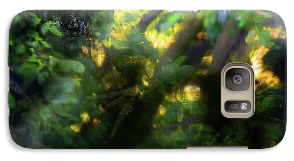 Galaxy Case featuring the photograph Secret Forest by Richard Piper