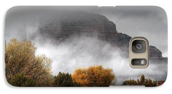 Galaxy Case featuring the photograph Sedona Fog by Tam Ryan