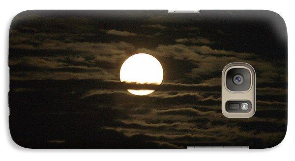 Galaxy Case featuring the photograph Seneca Lake Moon by William Norton