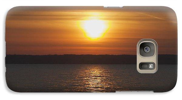 Galaxy Case featuring the photograph Seneca Lake Sunrise by William Norton