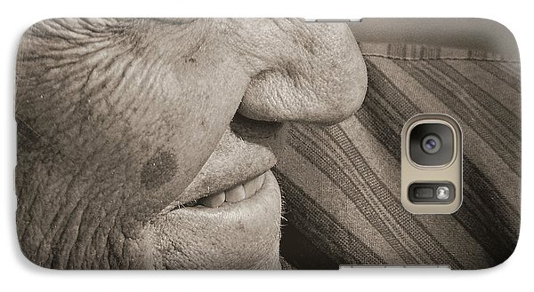 Galaxy Case featuring the photograph Senior Smile by Lin Haring