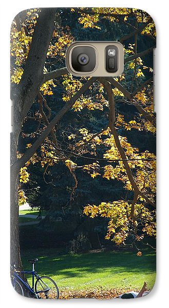 Galaxy Case featuring the photograph September Dreams by Joseph Yarbrough
