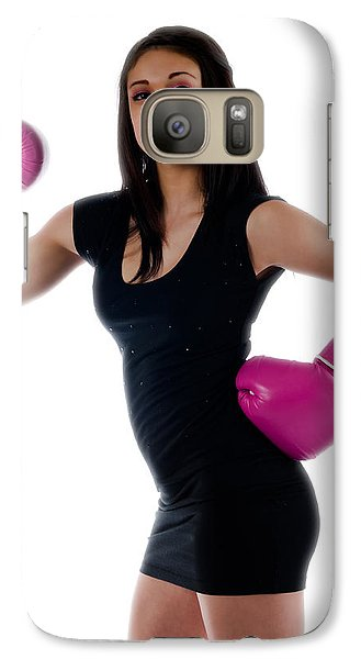 Galaxy Case featuring the photograph Sexy Boxer by Jim Boardman