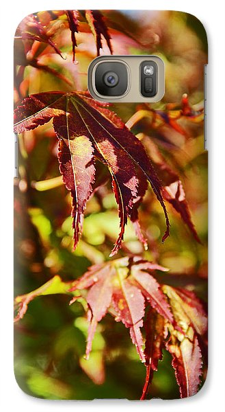 Galaxy Case featuring the photograph Shades Of Autumn by Kerri Ligatich