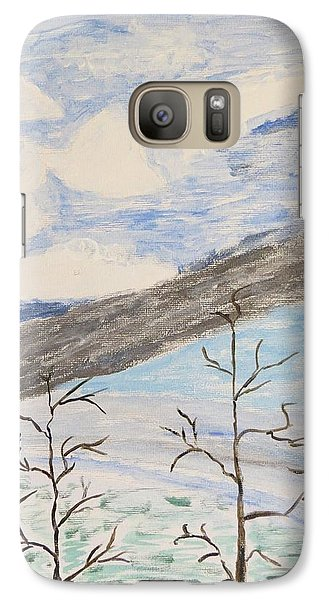 Galaxy Case featuring the painting Shades Of Nature by Sonali Gangane